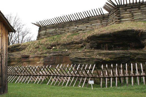 Ft ligonier for Old wooden forts