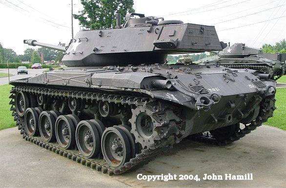 M 41 Walker Bulldog Tank