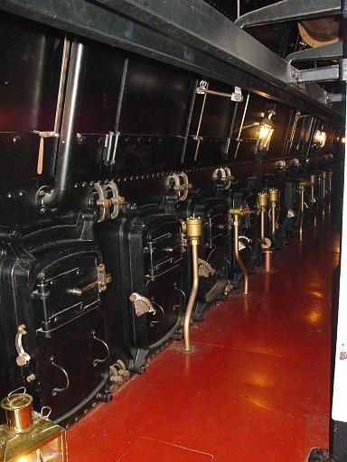 Warrior on Four Cylinder Engine